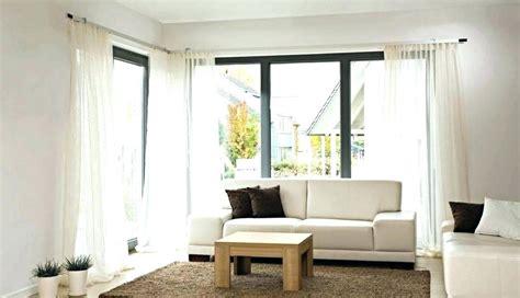 moderne vorhange wohnzimmer