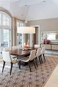 Beau deco salle a manger contemporaine avec idee deco for Idee deco cuisine avec salle a manger contemporaine