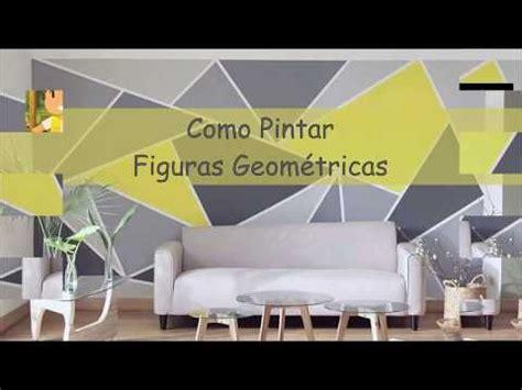 Descubre como Pintar una pared con triángulos o figuraras