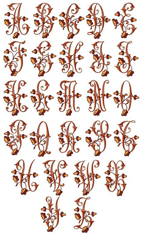 acorns alphabet
