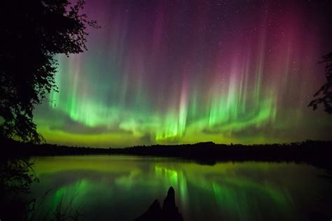 Northern Lights Minnesota by Northern Lights In Northern Minnesota My Bwca
