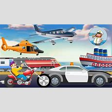 Modes Of Transport For Kids  Learn Transport Vehicles  Nursery Rhymes For Children Youtube