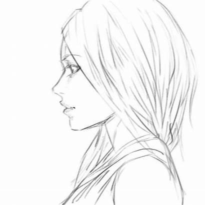 Drawing Hair Female 2d