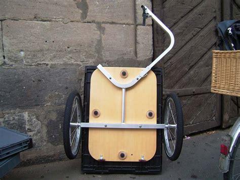 handwagen selber bauen anh 228 nger carryfreedom y frame fahrradzukunft ausgabe 3