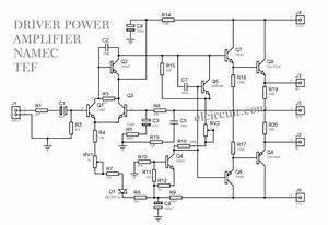 1000w Driver Power Amplifier Namec Tef