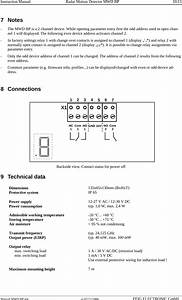 Feig Electronic Mwdbp Motion Detector User Manual Manual