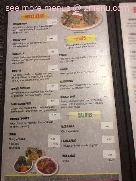 menu cuisine az menu of el sarape restaurant restaurant arizona 85344 zmenu