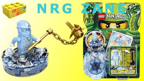 Lego Ninjago NRG Zane Spinner 9590 Review - YouTube
