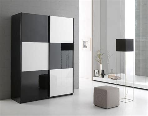 chambres insolites armoire 2 portes en 148 cm laquée jazzy structure