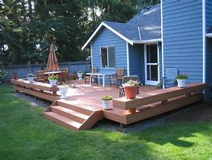 deck and patio ideas for small backyards talentneedscom With deck and patio ideas for small backyards