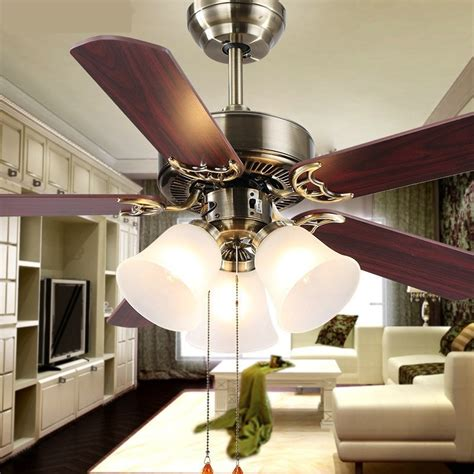living room fans with lights new european household fan lights fan living room l