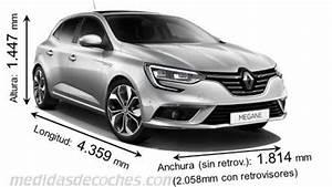 Dimension Megane 4 : medidas y dimensiones de coches marca renault ~ Medecine-chirurgie-esthetiques.com Avis de Voitures