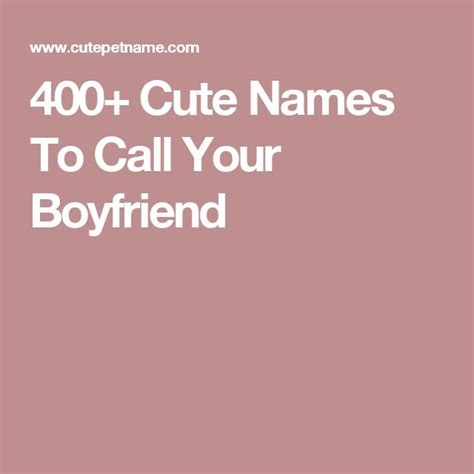 boyfriend names in phone 1000 ideas about pet names for boyfriend on