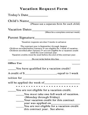 vacation request best practices fillable printable top