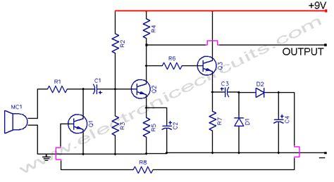 Automatic Gain Control Microphone Preamp Circuit Diagram World