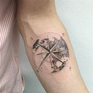 Tatouage Homme Original : top 50 des plus beaux tatouages de boussole ~ Melissatoandfro.com Idées de Décoration
