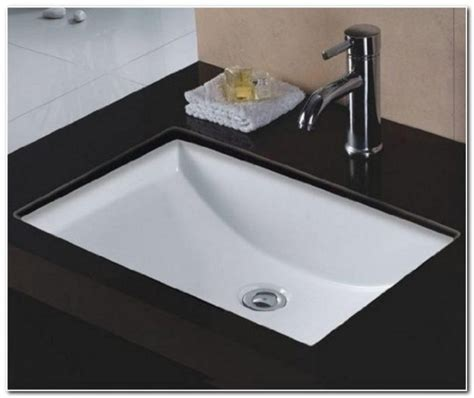Extra Large Undermount Bathroom Sinks  Sink And Faucet