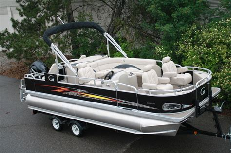 Length Of Boat Trailer For 20 Foot Boat by High Quality New 20 Ft Tritoon Pontoon Boat Fish And