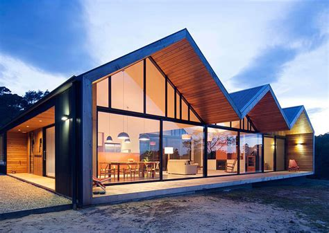 Design Your Home : Contemporary Gable Roof Design Ideas Simple For Your Home