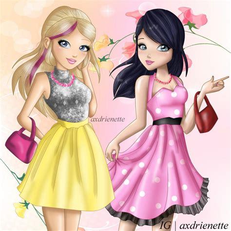 by design season 2 and marinette season 2 doll design by axdrienette on