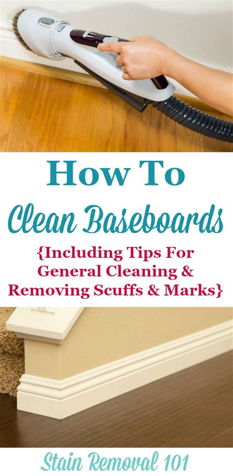 How To Clean Baseboards Including General Cleaning
