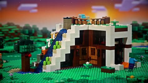 knock knock lego minecraft stop motion video youtube