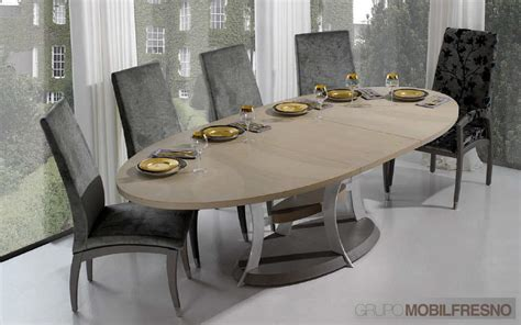 table salle a manger ovale design table a manger ovale extensible