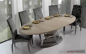 Table A Manger Ovale : table a manger ovale extensible ~ Melissatoandfro.com Idées de Décoration