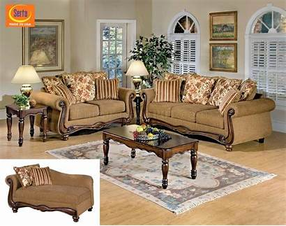 Acme Furniture Sofa Fabric Brown Traditional Floral