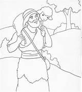 Shepherd Jesus Coloring Printable Colouring Getcolorings sketch template