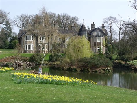 royal cottage residence york cottage and the lower lake at sandringham royals in