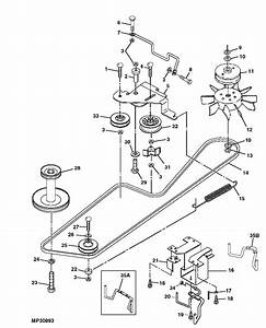 John Deere Gt235 Drive Belt Diagram