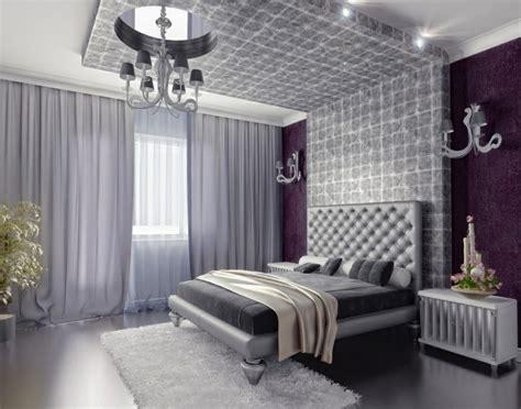 light purple and grey bedroom 20 beautiful purple accent wall ideas 19056 | living ideas bedroom luxury purple accent wall light grey curtains 2