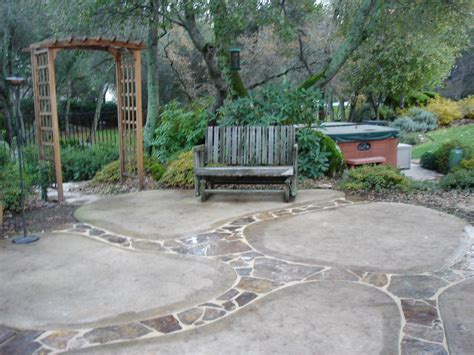 Small Backyard Concrete Patio Designs by Sted Concrete Patio Designs Decorative Concrete
