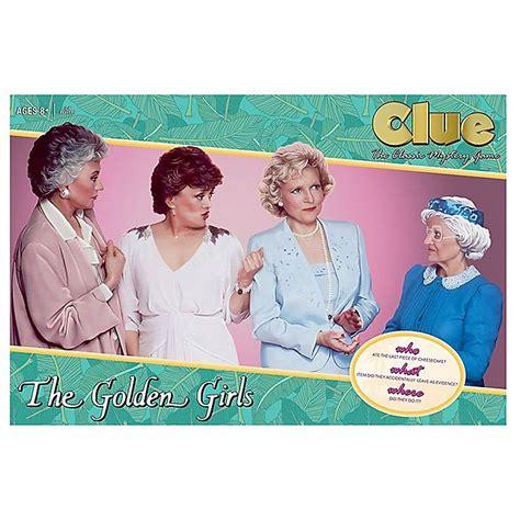 clue  golden girls board game bed bath