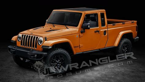 2019 Jeep Ute by News 2019 Jeep Wrangler Ute To Be Called Scrambler