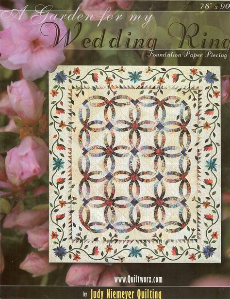 a garden for my wedding ring pattern judy niemeyer quilt