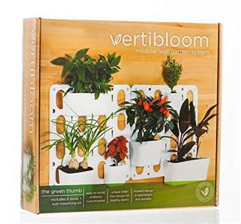 Indoor Vertical Garden Kit vertibloom living wall garden starter kit nifty homestead