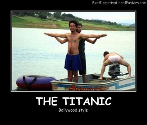Titanic Boat Poster by The Titanic Demotivational Poster