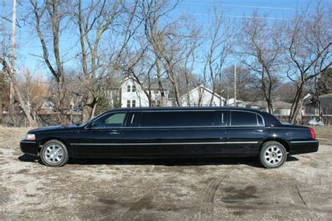 Stretch Limousine by Purchase Used 2009 Lincoln Stretch Limousine 100 In Des