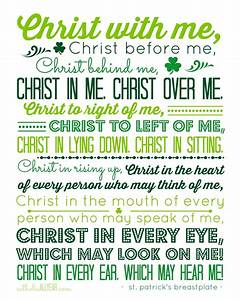 A Prayer for St. Patrick's Day - Jenny Rae Armstrong