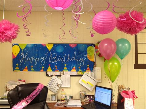 happy birthday cubicle decorations best 25 office birthday decorations ideas on