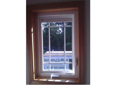 crank  casement window screenman mobile screening