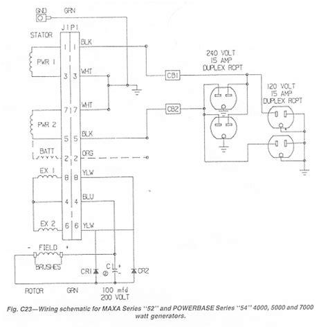Coleman Powermate Generator Wiring Diagram by Coleman Generator Wiring Diagram Parts Wiring Diagram Images