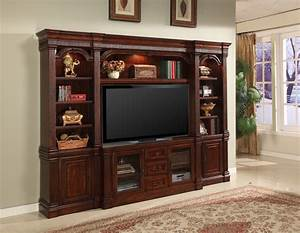 Parker house welington antique 4 piece estate wall wel 700 4 for Traditional wall units
