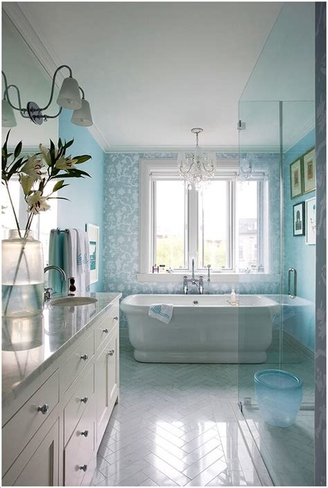 amazing accent wall ideas   bathroom