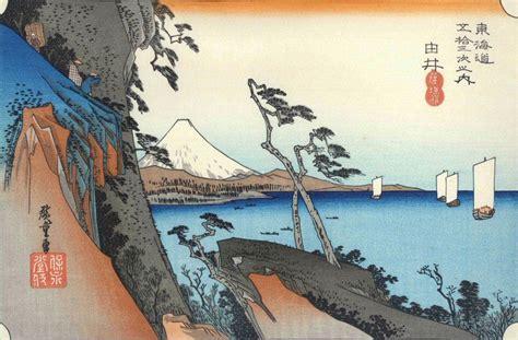 trente six vues du mont fuji histoire d une oeuvre quot la vague quot de hokusai ecole des c 232 dres qu 233 tigny