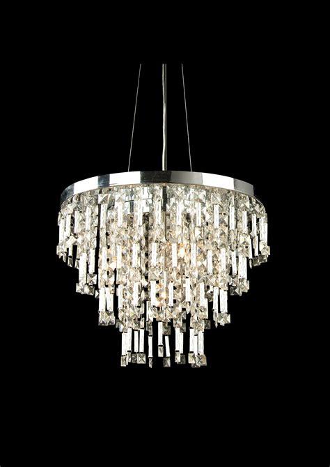 bethel 6 light clear chrome rectangular ceiling fixture