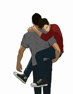 #sterek #fanart amor gay dibujos Pinterest Chicos enamorados, Posdata y Enamorado