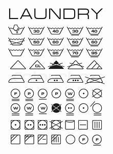 Symbole Auf Waschmaschine : satz von waschmaschine symbole stock foto colourbox ~ Markanthonyermac.com Haus und Dekorationen